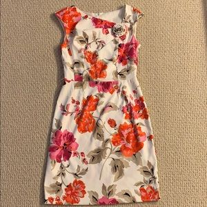 Gorgeous multi colored floral dress
